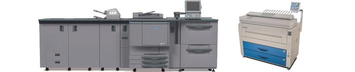 State of the art printing equipment at Copy Shop in South Amboy, NJ